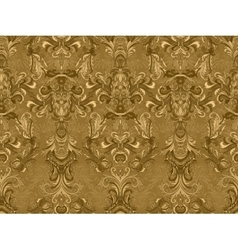 Luxury floral damask wallpaper Seamless pattern vector image