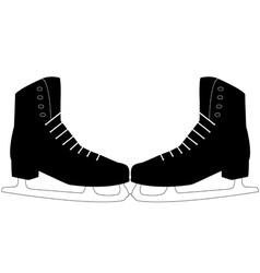 pair of skates vector image