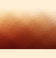 texture-wave-orange vector image