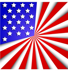 usa flag background Eps10 vector image
