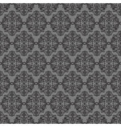 Dark background with seamless ornament vector image