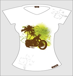 abstract T-shirt vector image vector image
