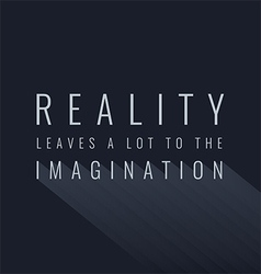 Creativity Quote vector image