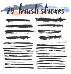 29BrushStrokes vector image