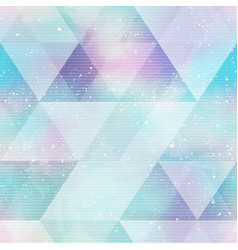 Bright triangle seamless pattern vector