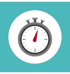 Chronometer of Healthy lifestyle design vector