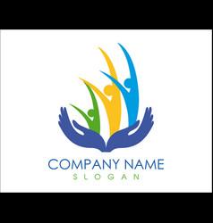 Family care logo vector