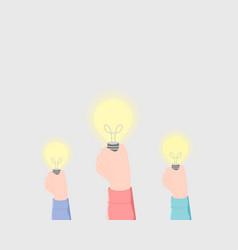 idea creativity imagination concept vector image