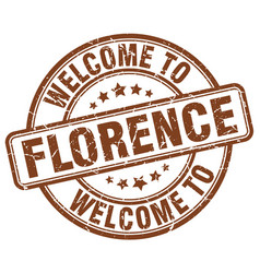 Welcome to florence vector