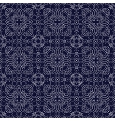 Medieval floral seamless pattern vector image vector image