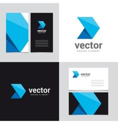 logo design element 23 vector image vector image