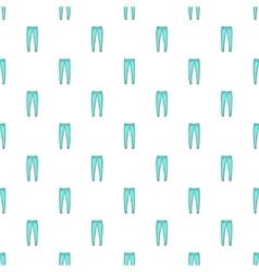 Men jeans pattern cartoon style vector image vector image
