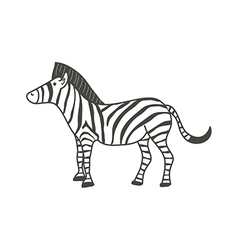 A zebra vector