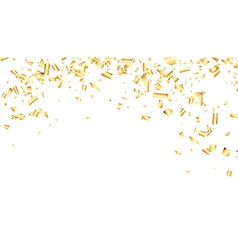 Background with confetti vector