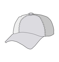 Baseball hat vector