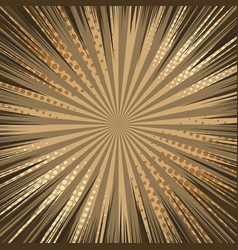 Brown comic abstract background vector