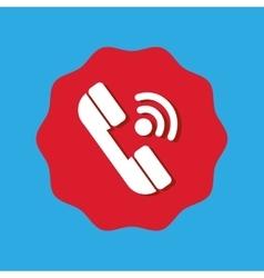Button mobile application design vector