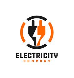 Electrical grid repair logo vector