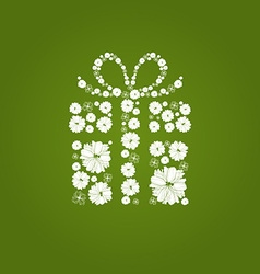 FlowerGift vector image