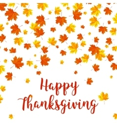 Happy Thanksgiving Day celebrations greeting card vector