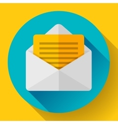 Open Envelope Mail Icon new letter message vector image