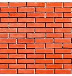 Red Seamless Brickwall vector image