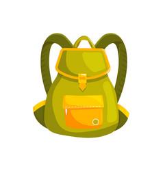 Woman backpack bag vector