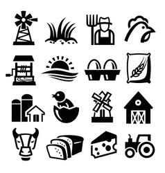 farm vector image