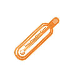 thermometer temperature scale vector image