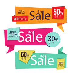 Banner best price sign image vector