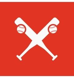 Baseball icon Sport symbol Flat vector