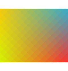 Multicolored checked pattern background vector image