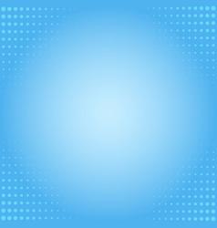 pop art background blue background halftone dot vector image