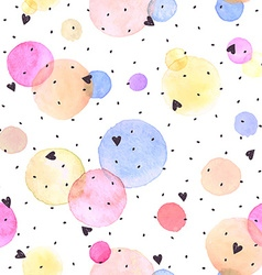 Watercolor seamless background vector