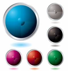 button divide vector image