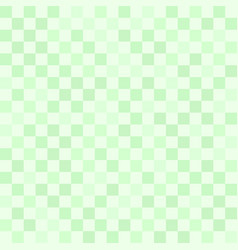 checkerboard pattern green seamless background vector image