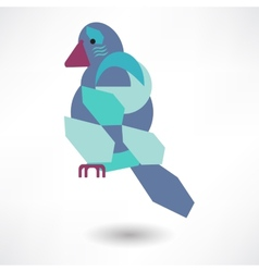 Creative Dove Icon vector