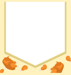 frame thanksgiving style collection stock vector image