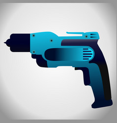 hand drill icon vector image
