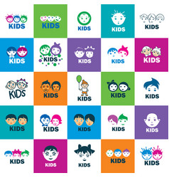 icon kids vector image