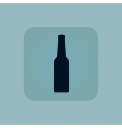 Pale blue alcohol icon vector