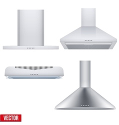 Set of cooker hoods vector image