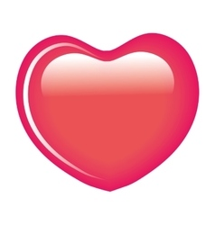 Sweet heart candy isolated icon vector