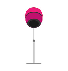 hair dryer icon salon beauty symbol hairdryer vector image