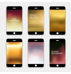 Phone Background vector image vector image
