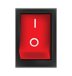 Off button vector image vector image
