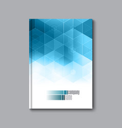 business design template cover brochure book vector image