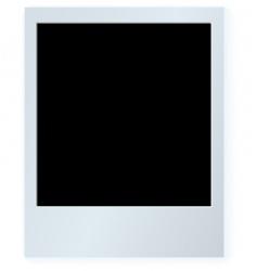 polaroid card vector image vector image