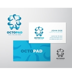 Abstract Logo Business Card Template or vector