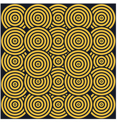 Background seamless pattern twirling tribe jungle vector